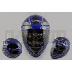 Шлем-интеграл LS-2 mod.375 Blue
