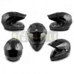Шлем кроссовый HELMO CR188 Black