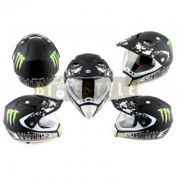 Шлем кроссовый HELMO CR188 Monster Energy