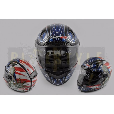 Шлем-интеграл LS-2 mod.385/396 Liberty