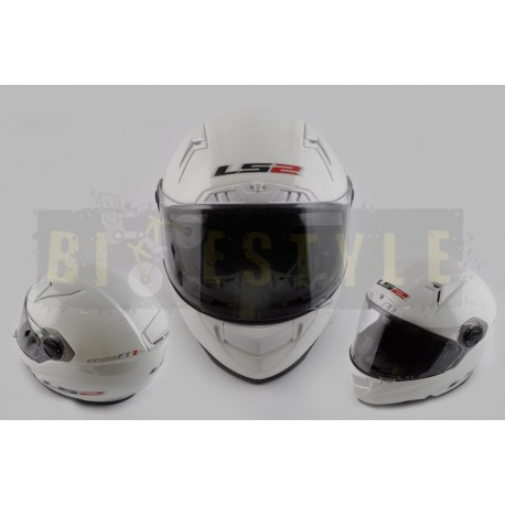 Шлем-интеграл LS-2 mod.385/396 White