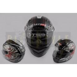 Шлем-интеграл LS-2 mod.385/396 Black/Red