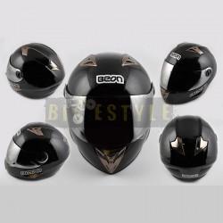 Шлем-интеграл BEON B 500 Black