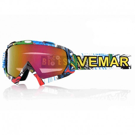 Мотоочки VEMAR QL037 CF