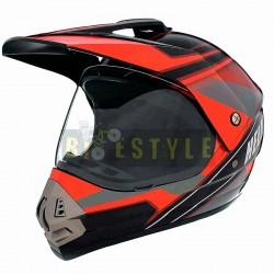 Шлем кроссовый VLAND 819R
