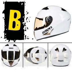 Шлем-интеграл BEON B-500 White