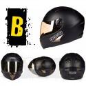 Шлем-интеграл BEON B 500 Black X-CELERATE Mat