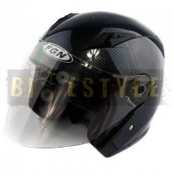 Шлем открытый FGN Carbon