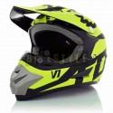 Шлем кроссовый HELMO V1 Green